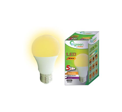 LED Glass Bulb E27 5W (Warm White)